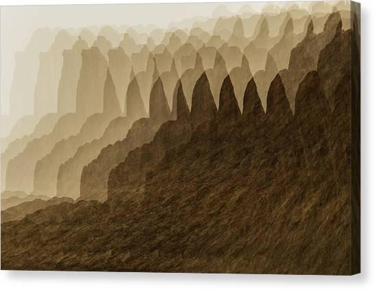 Canyon Dreams Canvas Print