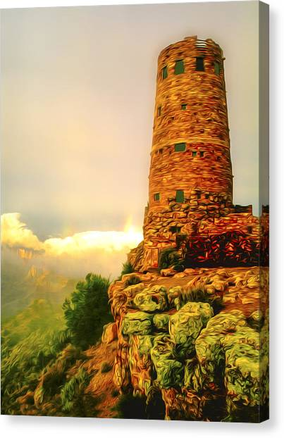 Canyon Gifts Canvas Print