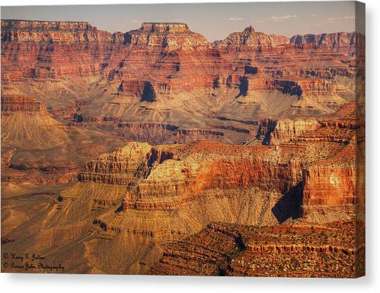 Canyon Grandeur 2 Canvas Print