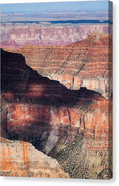 Wonders Of The World Canvas Print - Canyon Layers by Dave Bowman