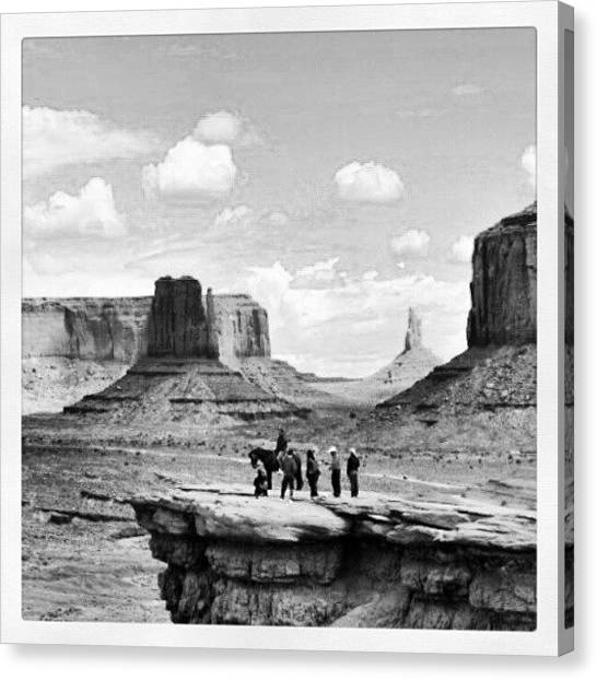 Indian Canvas Print - Canyon5 by Ernesto Cinquepalmi