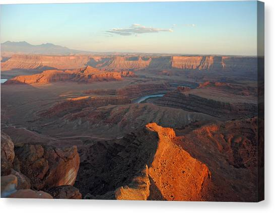 Canyonlands Np Dead Horse Point 21 Canvas Print