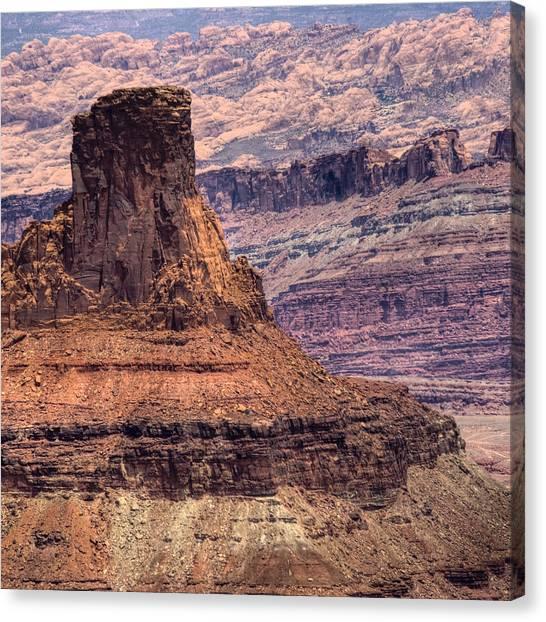 Canyonlands Canvas Print by Ryan Heffron