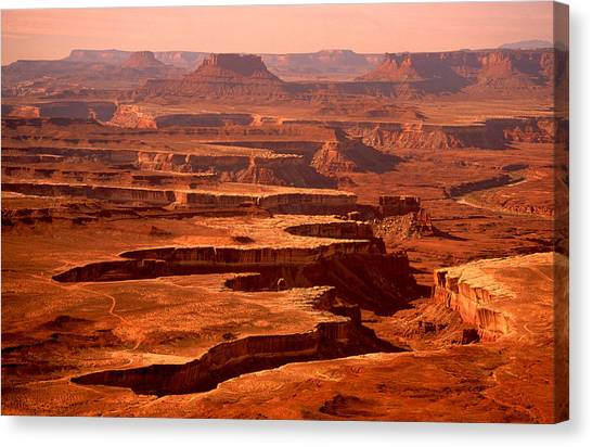 Canyonlands Utah Canvas Print