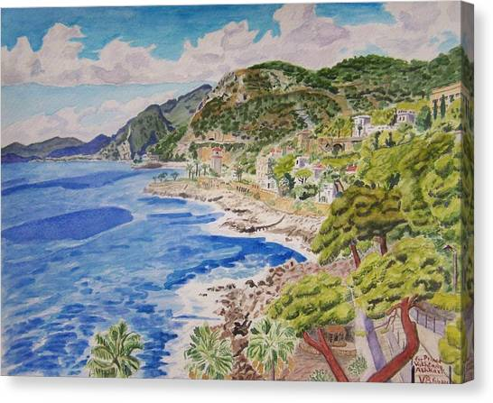 Cap D'ail For Prince Abkhazi Canvas Print