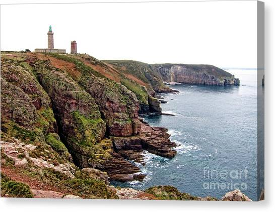 Moorland Canvas Print - Cap Frehel In Brittany France by Olivier Le Queinec