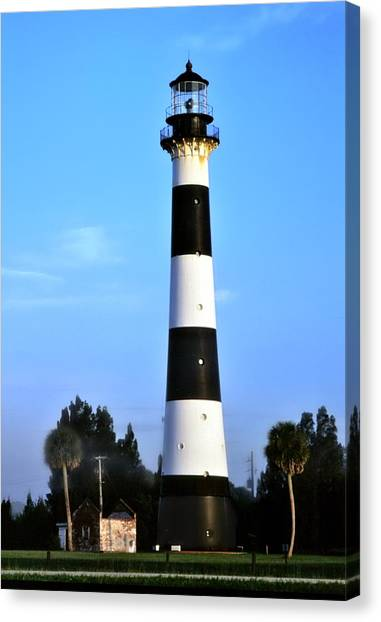 Cape Canaveral Light Canvas Print
