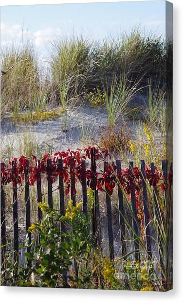 Cape Charles Autumn Canvas Print