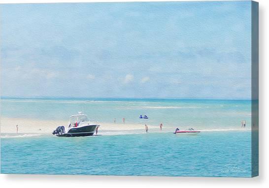 Jet Skis Canvas Print - Cape Cod 09 by Joost Hogervorst