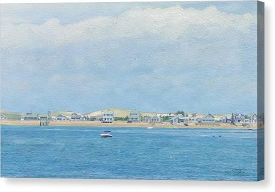 Jet Skis Canvas Print - Cape Cod 10 by Joost Hogervorst