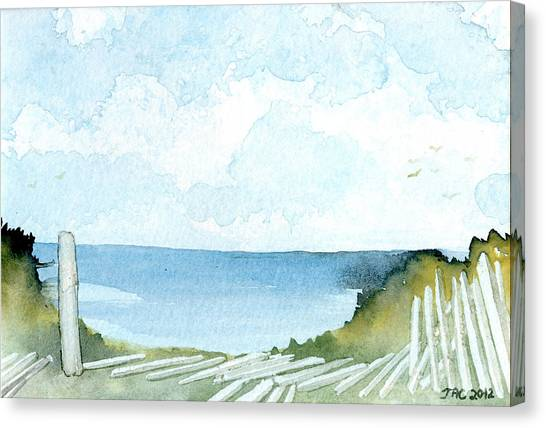 Cape Cod Bay Study #1 Canvas Print
