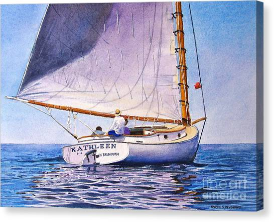 Cape Cod Catboat Canvas Print