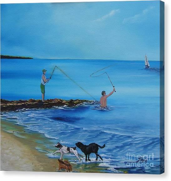 Cape Cod Summer Canvas Print