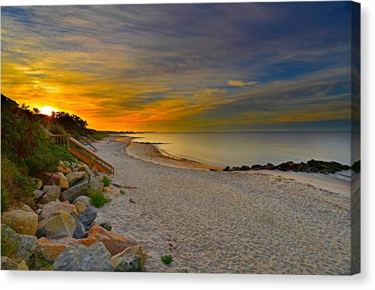 Cape Cod Sunrise #1 Canvas Print