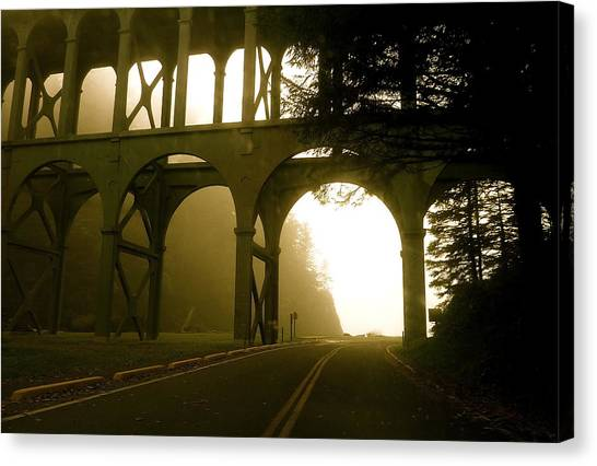 Cape Creek Bridge Canvas Print