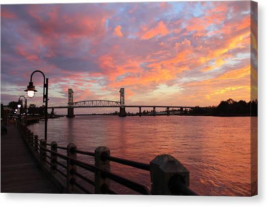 Cape Fear Bridge Canvas Print