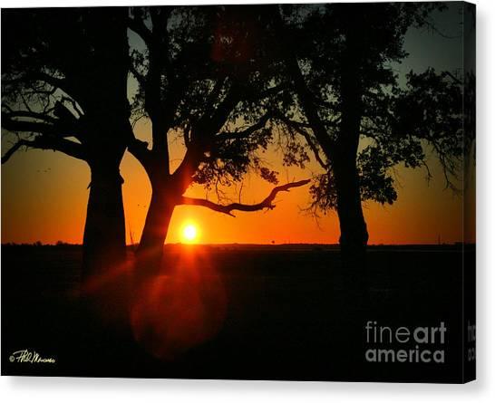 Cape Fear Sunset Canvas Print