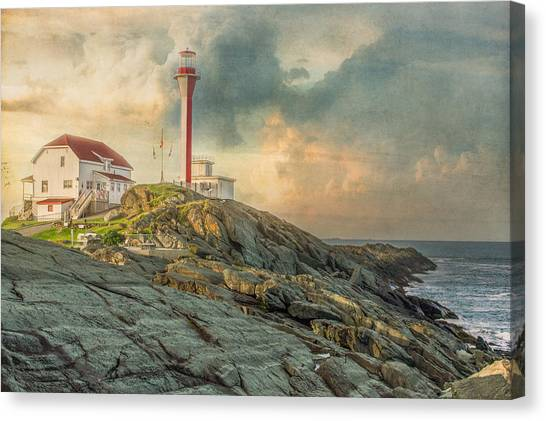 Cape Forchu  Canvas Print