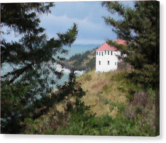 Cape Foulweather II Canvas Print