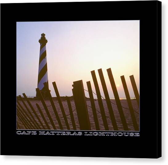 Cape Hatteras Lighthouse Canvas Print - Cape Hatteras Lighthouse by Mike McGlothlen