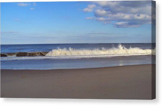 Cape Henlopen 10 Canvas Print by Cynthia Harvey