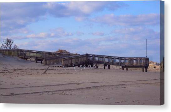Cape Henlopen 9 Canvas Print by Cynthia Harvey