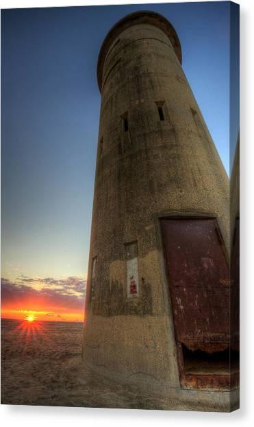 Cape Henlopen Tower Canvas Print