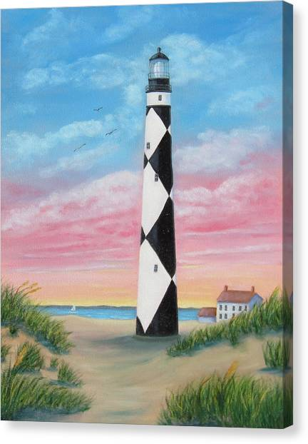 Cape Lookout Sunset Canvas Print