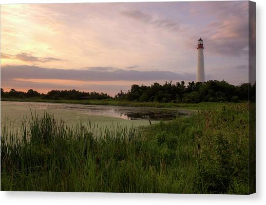Cape May Lighthouse II Canvas Print