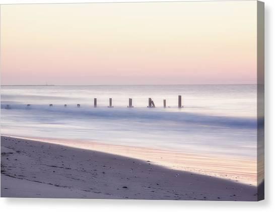 Cape May Ocean Dawn Canvas Print