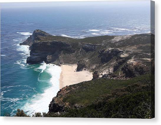 Cape Of Good Hope Coastline - South Africa Canvas Print
