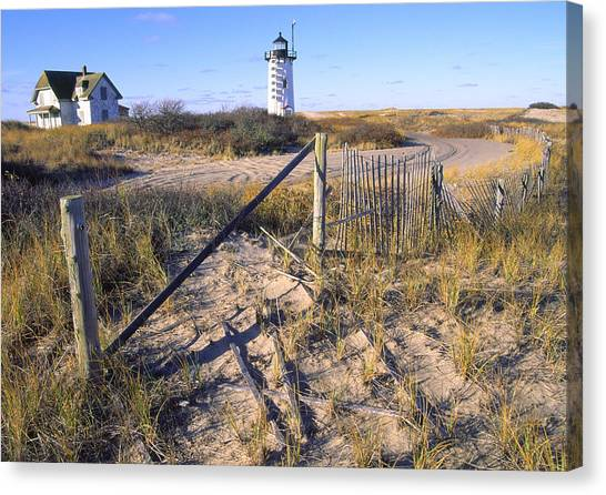 Race Point Lighthouse Cape Cod Canvas Print