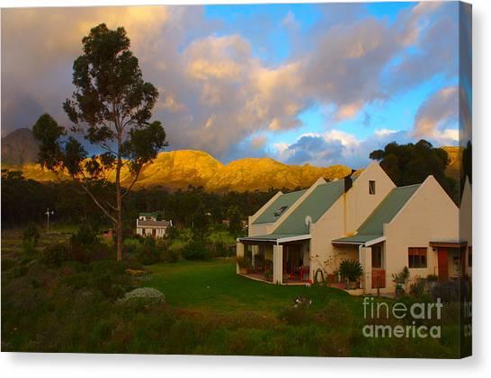 Cape Sunset Canvas Print