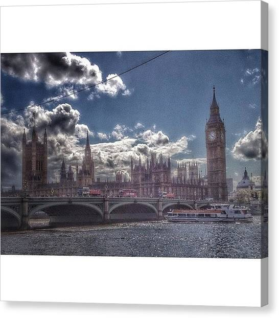 London Eye Canvas Print - Capital City by Jeremy Bomford