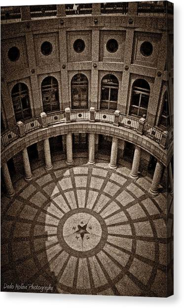 Austin Texas Canvas Print - Capital by Dado Molina