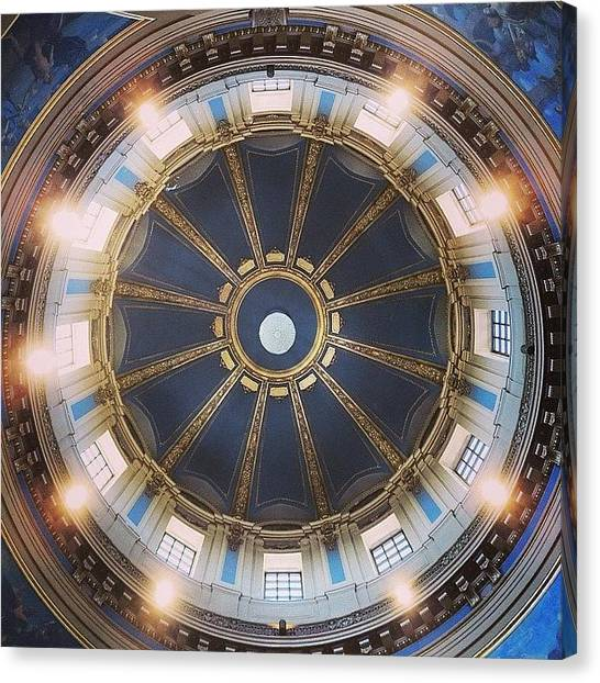 Minnesota Canvas Print - Capitol Dome by Heidi Hermes