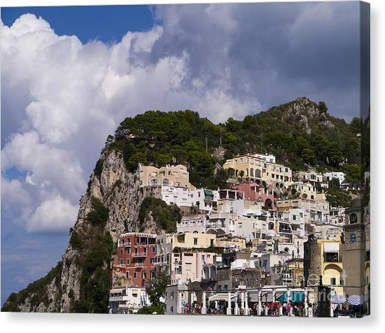 Capri Magic Canvas Print