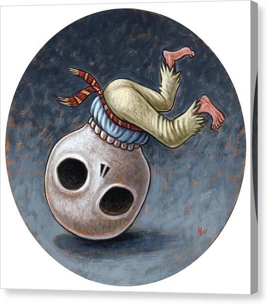 Caprichos Calaveras #1 Canvas Print