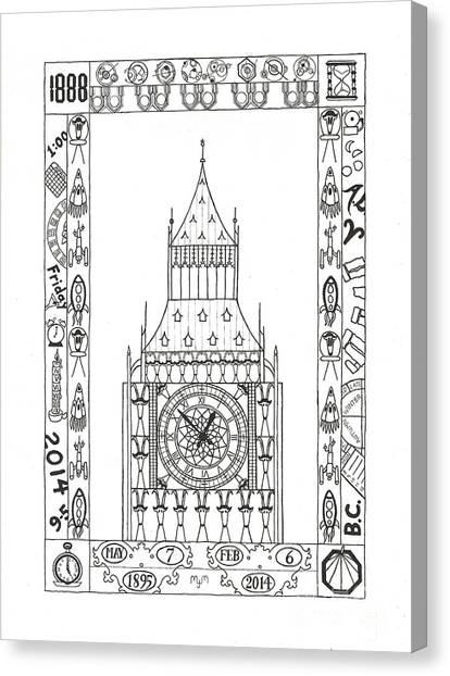 Capricious Time Canvas Print