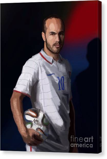 Mls Canvas Print - Captain America by Jeremy Nash