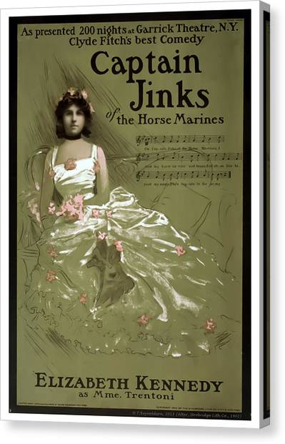 Captain Jinks Canvas Print