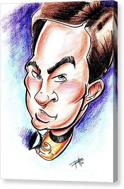 James T. Kirk Canvas Print - Captain Kirk by Big Mike Roate