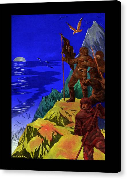 Captain Nemo Unfurled Canvas Print by Jason Edwards
