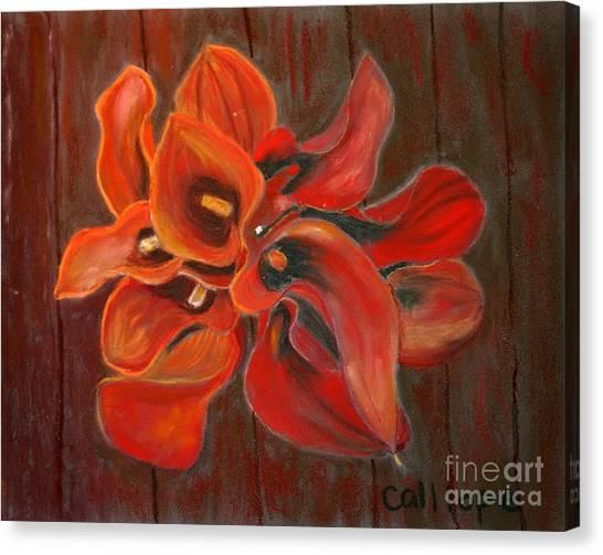 Captain Safari Bouquet Canvas Print