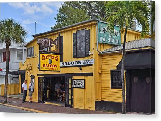Captain Tony's Saloon Canvas Print
