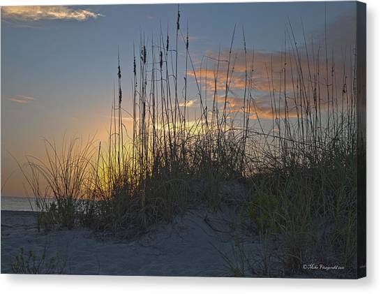 Captiva Sunset Canvas Print by Mike Fitzgerald