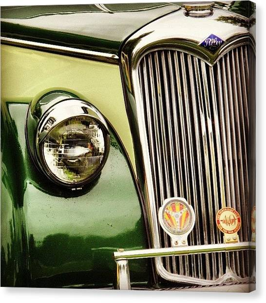 Grills Canvas Print - Car 1 by Peter Armstrong