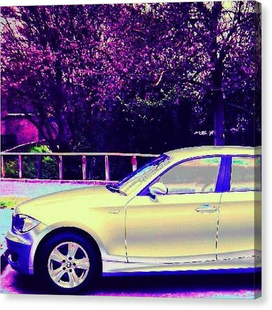 Floss Canvas Print - Car Bmw  #car #cars #transport by Candy Floss Happy