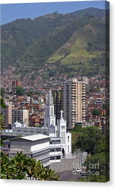 Venezuelan Canvas Print - Caracas by Babak Tafreshi