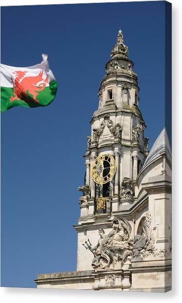Cardiff City Hall Canvas Print